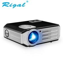 Rigal RD817 HD Proyector 3500 Lúmenes Soporte 1080 P Proyector Para de Cine En casa LCD Proyector Con HDMI USB VGA AV de Vídeo proyector