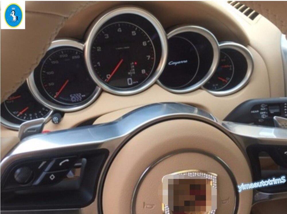 2 color for choice ! Dashboard Instrument Panel Cover Trim Interior For Porsche Panamera / cayenne 2012 - 2015 1 Pcs стоимость