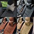 PU Leather Neck Pillow Car Seat Headrest Soft Pad Travel Pillow Head Neck Rest Support Cushions