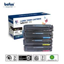 Befon CF400A CF401A CF402A CF403A for HP201A Compatible Toner Cartridge For HP Color LaserJet ProM252 M252dw M277n M252N M277dw