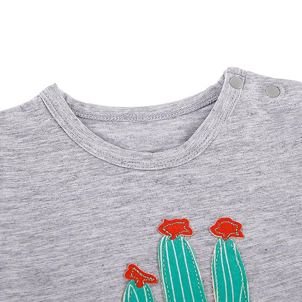 Nowonarodzone chłopcy Romper Summer Baby Boy Girl Cartoon Rośliny - Odzież dla niemowląt - Zdjęcie 3
