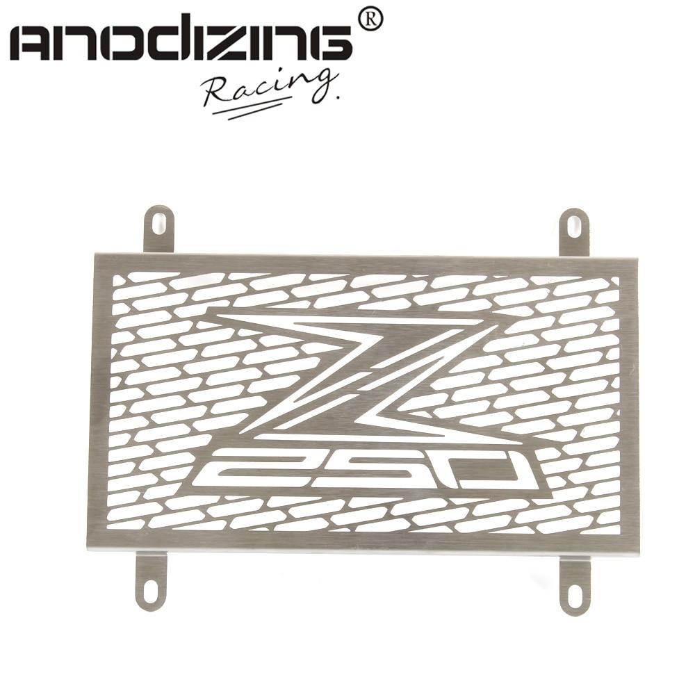 Radiator Grille Grill Cover Protector Guard For KAWASAKI Z250 2013-2015 rpmmotor radiator protector grille grill cover guard for honda cbr 250r 2011 2013