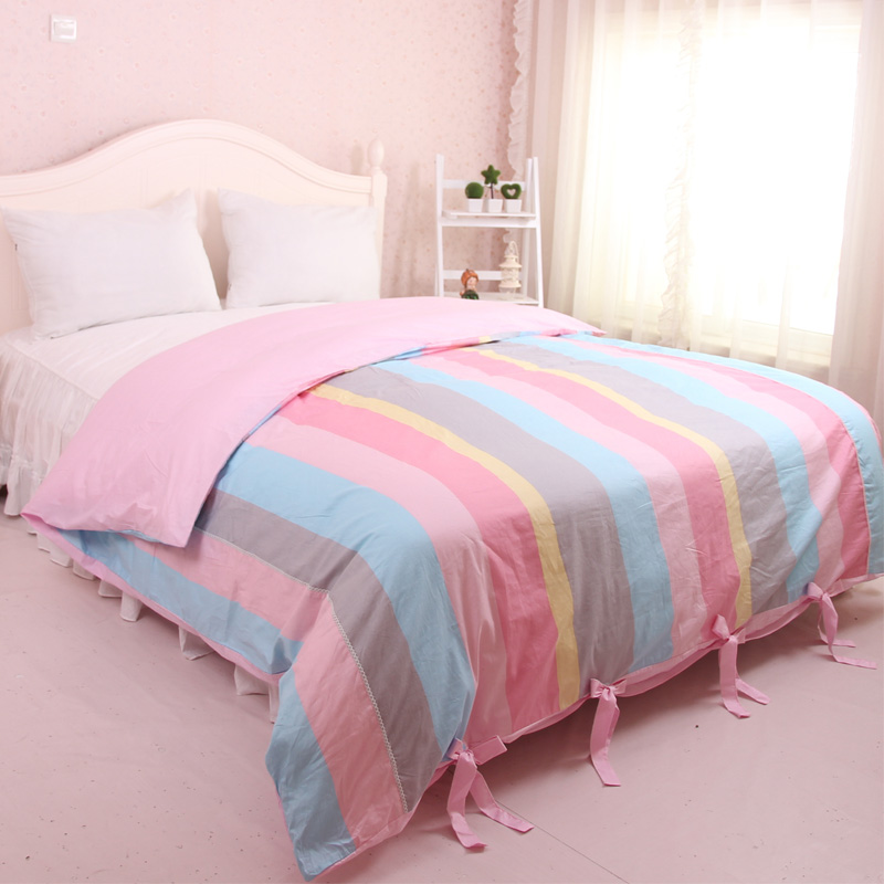 New Fashion 100% Cotton Bedding set Duvet Cover no flat sheet and pillowcase quilt case red duvet covers Queen Twin size SJ67