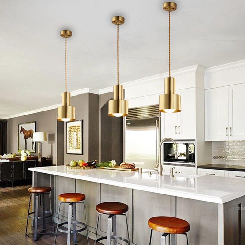Lukloy Copper Pendant Light Dining Room
