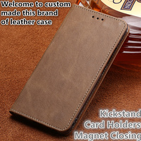 CJ13 Real leather phone bag with card holders for Huawei P Smart phone case for Huawei Enjoy 7S phone bag free shipping