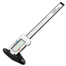 """Cheap price LCD 6""""150mm Digital Vernier Caliper Accurate Micrometer Accurately Made of Carbon Fiber Composite"""