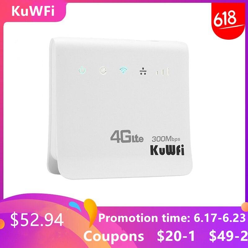 Débloqué 300 Mbps Wifi routeurs 4G LTE CPE routeur Mobile avec Port LAN prise en charge carte SIM et Europe/asie/moyen-orient/afrique