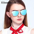 High Quality Sunglasses Women 2017 New Arrival With Alloy Frame Mirror Lens Designer Fashion Sun Glasses Oculos De Sol Femiminin