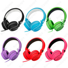 Rockpapa Stereo Adjustable Foldable High Quality Headphones Headset with Microphone for iPhone iPod Mp3 PC Kids Girls