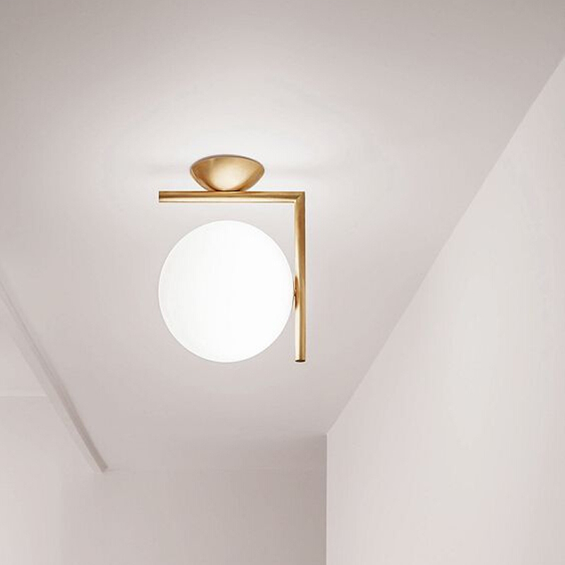 Nordic LOFT industrial wind American personality LED bedroom living room aisle balcony study iron ceiling lightNordic LOFT industrial wind American personality LED bedroom living room aisle balcony study iron ceiling light