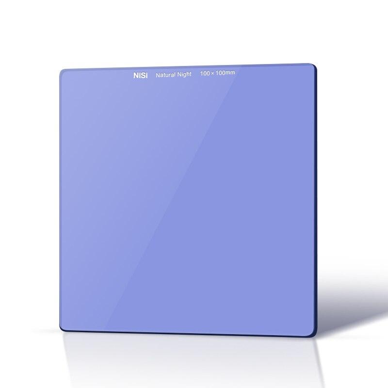 Filtre de nuit naturel Nisi 100mm, filtre d'insertion carré 100x100mm 4x4 (filtre de Pollution lumineuse)-in Caméra Filtres from Electronique    1