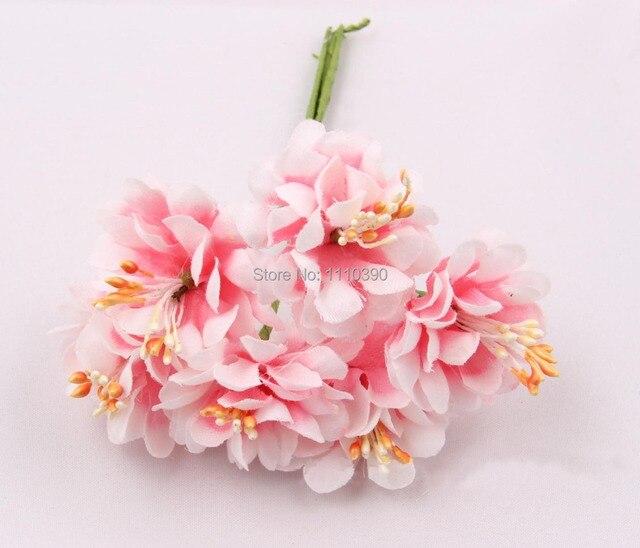 3~4CM artificial flowers bouquets,silk flowers bouquet for diy ...