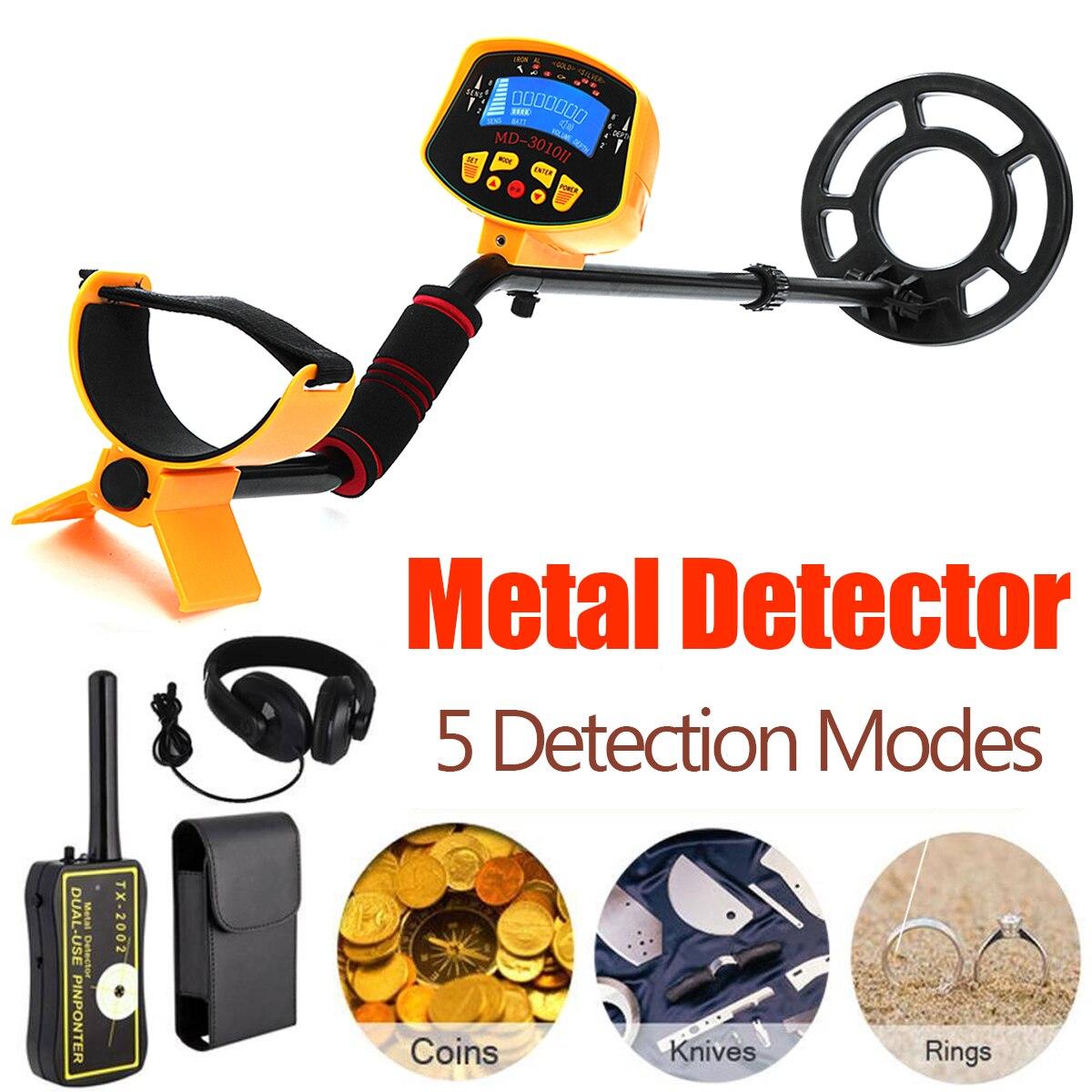 MD3010II TX 2002 Pinpointer Metal Detector Searching Gold Digger Deep Sensitive Treasure Hunter Metal Finder Seeking