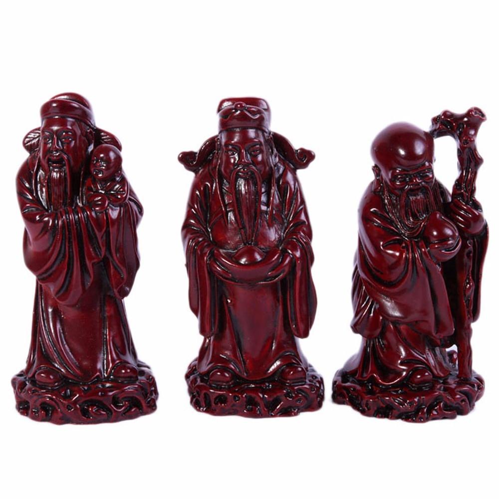 Feng Shui Fu Lu Shou Three Goddesses Fuk Luk Sau H 5