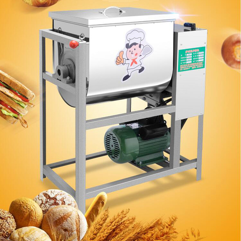 220v 2200W Commercial Dough Mixer Flour Mixing machine Stirring Mixer suitable for Pasta bread Dough Kneading capacity 25kg