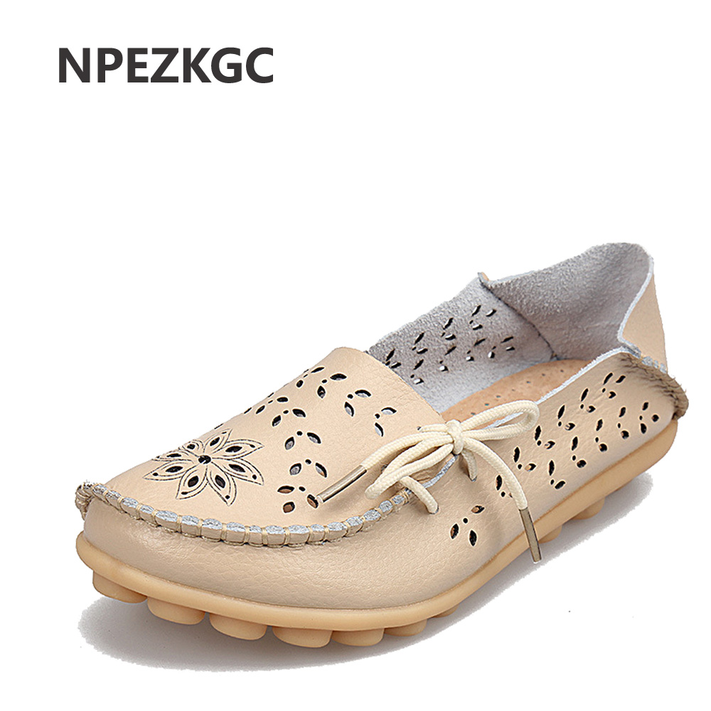 NPEZKGC Summer women flats hollow out comfortable loafers women shoes female casual shoes chaussure femme Slip on Ballet Flats autumn women flats buckle leather loafers women shoes female casual shoes chaussure femme slip on ballet boat shoes moccasins