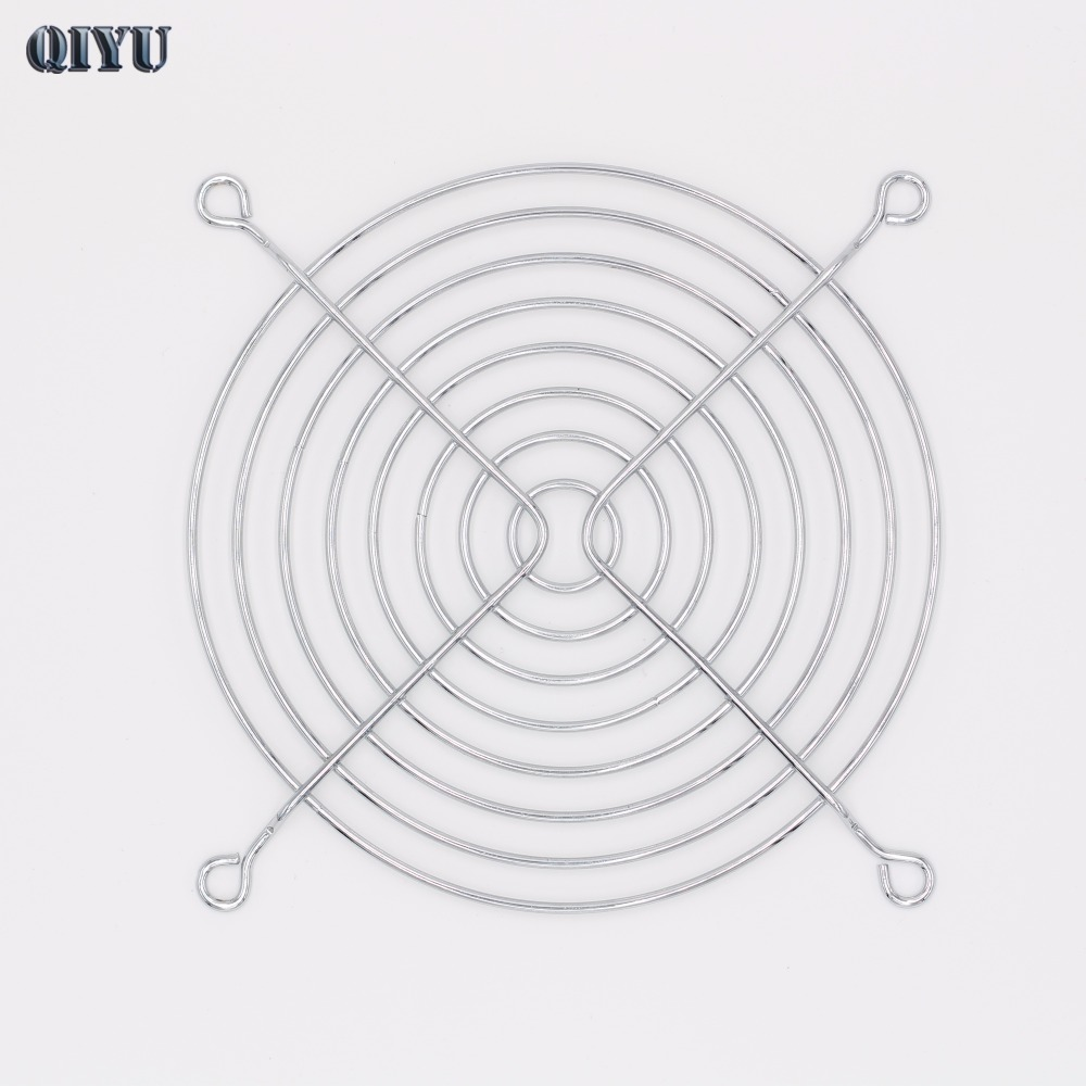 hight resolution of 12cm industrial axial fan net 12038 fan grill 12025 fan guard ventilation equipment protection bold wire eight iron ring ring