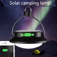 Portable Solar Power LED Bulb Lamp Solar Panel Applicable Outdoor Lighting Camp Tent Fishing Lamp Garden
