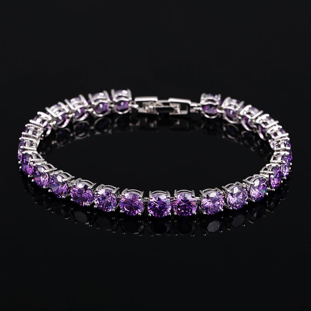 BlingZircons Bridesmaids Luksuzni CZ Crystal Nakit Brilliant 6mm Big - Modni nakit - Foto 5