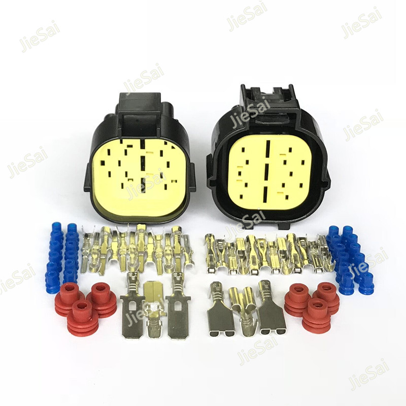 15 Pin 2 85262 1 85223 1 Male Female Automotive Connector For Tyco TE AMP ECONOSEAL