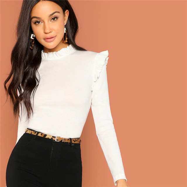 Modern Lady White Boho Top