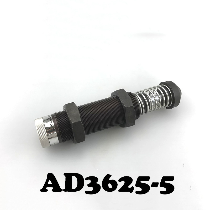 Automatic compensation AD 3625-2 type hydraulic buffer Pneumatic Hydraulic Shock Absorber Adjustable Hydraulic Buffer AD3625-5 adjustable hydraulic buffer ad2580 pneumatic hydraulic shock absorber automatic compensation type hydraulic buffer