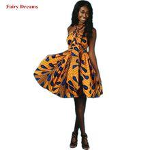 a0fe691e723 Robes africaines pour femmes robe de soirée Ankara paon doré Tradition  africaine vêtements multi-voies robe de bal Style été 201.