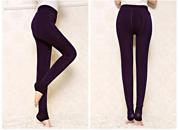 Women's High Waist  Warm Leggings
