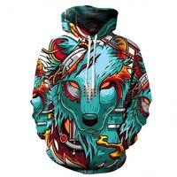 Hoodies Men New Fashion Sweatshirt Hoodies 3D Print Hip Hop Coats Casual Sweatshirt Sportwear Tops Hip