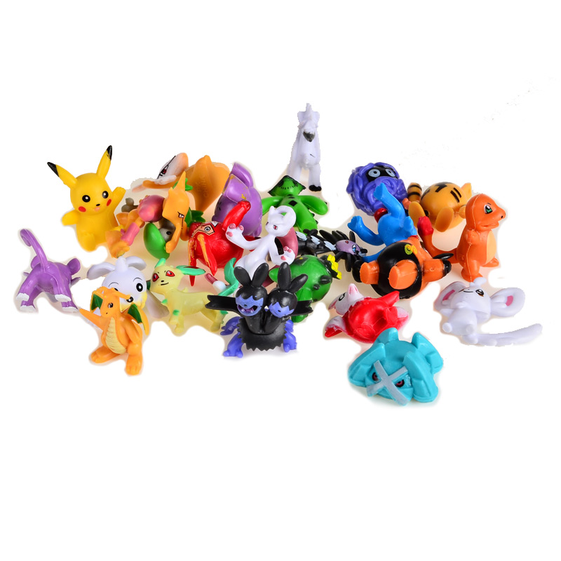 24pcs BOHS Mini Monster Collection Figures Pokeball Toys Random 48pcs lots kids toys pokeball action figures pikachu anime pokeball toys mixed 2 3cm mini random mini figurine toys for children