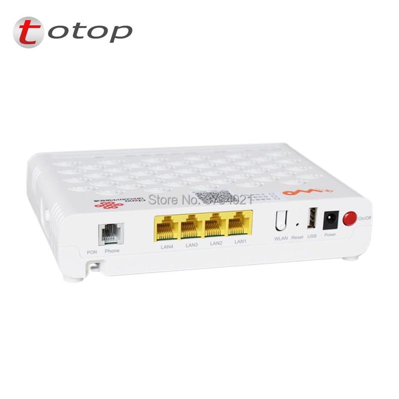 ZTE ZXHN F627 5.0 GPON ONU ONT Router with 4FE+2TEL+USB+wifi