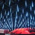 20 30 cm Fada LED chuva de Meteoros Luzes De Natal Ao Ar Livre À Prova D' Água Tubo de Luz chuva Decorações do Ano Novo com Cauda AC 100 V 220 V