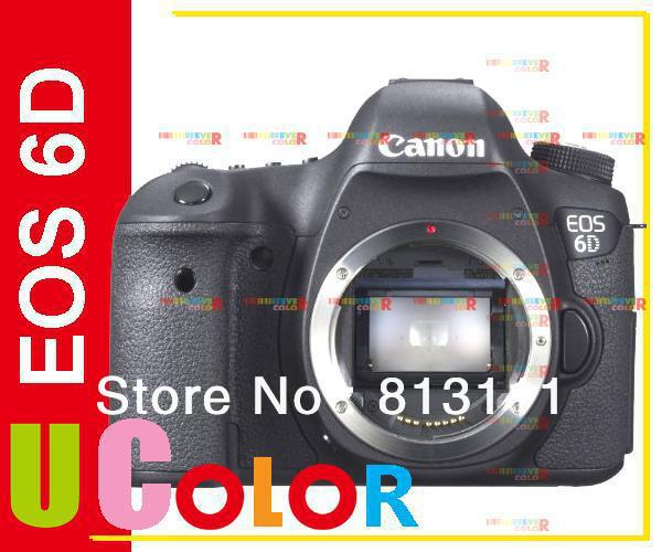 Canon 6D DSLR Camera -Full-Frame -20.2MP -3.0 LCD -Full HD 1080p Video - Wi-Fi (Body only,Brand New) nikon d5600 dslr camera 24 2mp full hd 1080p wi fi bluetooth 2016 new release