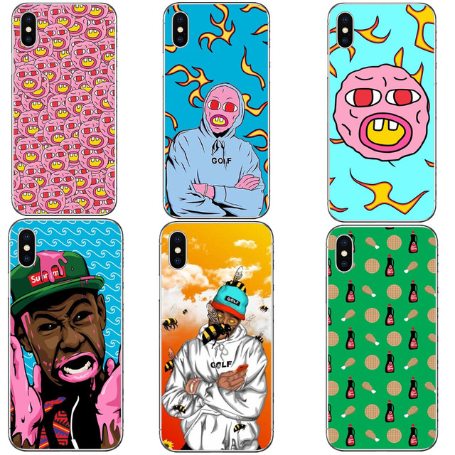 a9fb0c32f479 Golf Wang Cases For iPhone X 10 5.8 OFWGKTA Odd Future Hard PC Phone Cover  For iPhone 5 5S SE 6 6SPlus 7 XR XS Max8 8 Plus