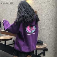 Hoodies Frauen Herbst Winter Lose Plus Samt Hohe Qualität Weiche Kawaii Harajuku Frauen Kleidung Chic Streetwear Ulzzang Chic