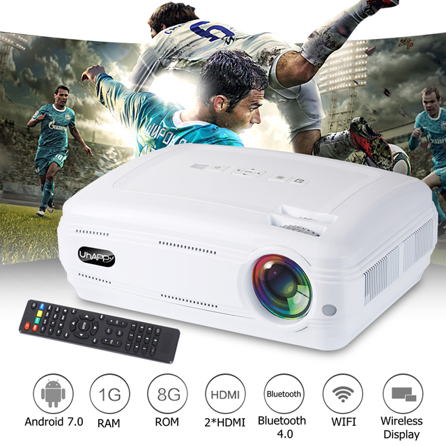Cheap 10000 Lumens 1080P Mini Projector 3D LED Home Cinema Theater Projector TV/AV/VGA/HD Beamer For Home Theatre Movie