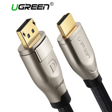 Ugreen displayport do HDMI kabel 4K 60Hz dp do HDMI 2.0 Adapter do projektora GTX 1060 laptopa Lenovo port wyświetlacza kabel HDMI(China)
