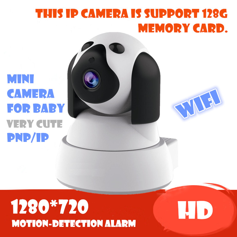 P2P IP Camera 720P HD Wifi Wireless Baby Monitor PT Security ONVIF Cloud Night Vision Micro SD Memory Card night vision onvif escam qf100 p2p ip camera 720p hd wifi wireless baby monitor pan tilt security camera onvif night vision support micro sd card