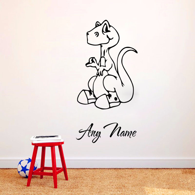 Online Get Cheap Dinosaurs Names Aliexpresscom Alibaba Group - Custom vinyl wall decals dinosaur