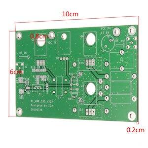 Image 4 - Leory amplificador de potência rádio amador transceptor 45 w ssb hf linear placa desenvolvimento rádio ondas curtas kit alta qualidade