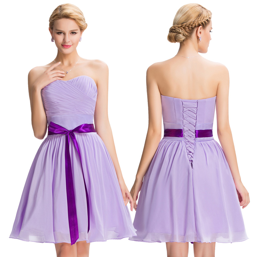 Grace karin cheap purple bridesmaid dresses a line modest aeproducttsubject ombrellifo Image collections
