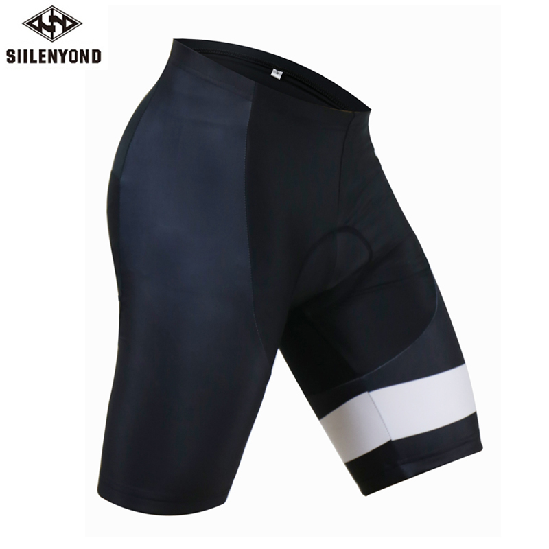 Siilenyond Cycling Shorts Pro 3D Padded Men Summer Sportswear MTB Road Bicycle Bike Downhill Triathlon Shorts Culotte Ciclismo
