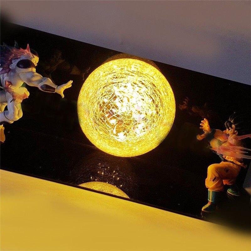 Dragon Ball Z Фигурки Гоку сон фигурка Коллекционная DIY аниме модель светодиодный светильник фигурка Подарочная коллекция игрушек - 2