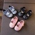 Весна 2017 дети Принцесса Bling Боути малышей shoes Супер мягкие и удобные Девушка Сандалии Платье новая мода телевизор с