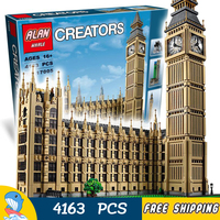 4163pcs Architecture Creator Expert Brick Big Ben Great Construction 17005 Model Building Blocks Toy Bricks Compatible With lego