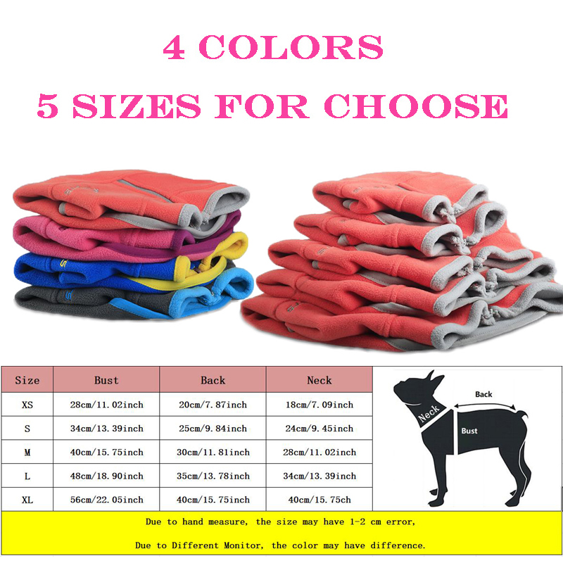 BOOB Pet Clothes Fleece Dog Harness Vest Coat Jacket Puppy T Shirt for Small Medium Dogs Dog Vests for Chihuahua French Bulldog 13 S