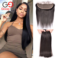 Gossip Girl Brazilian Straight Hair With Closure Bundles With Lace Frontal Human Hair Bundles Brazilian Virgin Hair With Closure