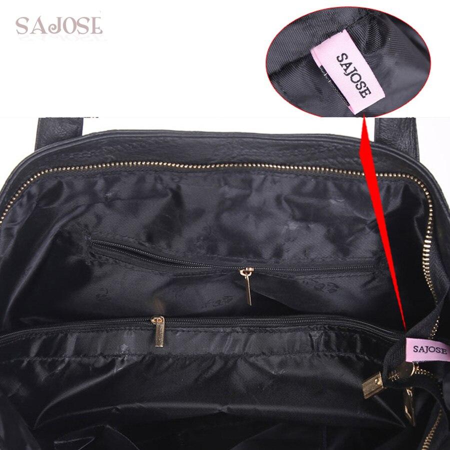 Damen Taschen PU Leder Mode Handtaschen Damen Schulter Messenger Tote - Handtaschen - Foto 6