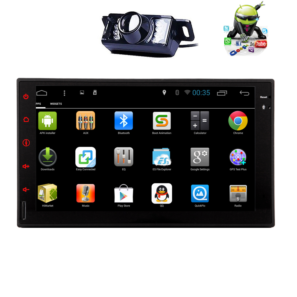 Gps stereo usb in dash app android 51 car radio no dvd obd2 rear view camera quad core android 51 2 din car stereo 7 inch capacitive touchscreen tablet entertainment indash multimedia head unit w fm rds radio greentooth Choice Image