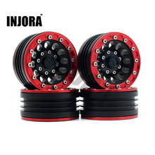 4Pcs Set RC Crawler 1 10 Metal Alloy 1 9 Inch BEADLOCK Wheel Rim for 1